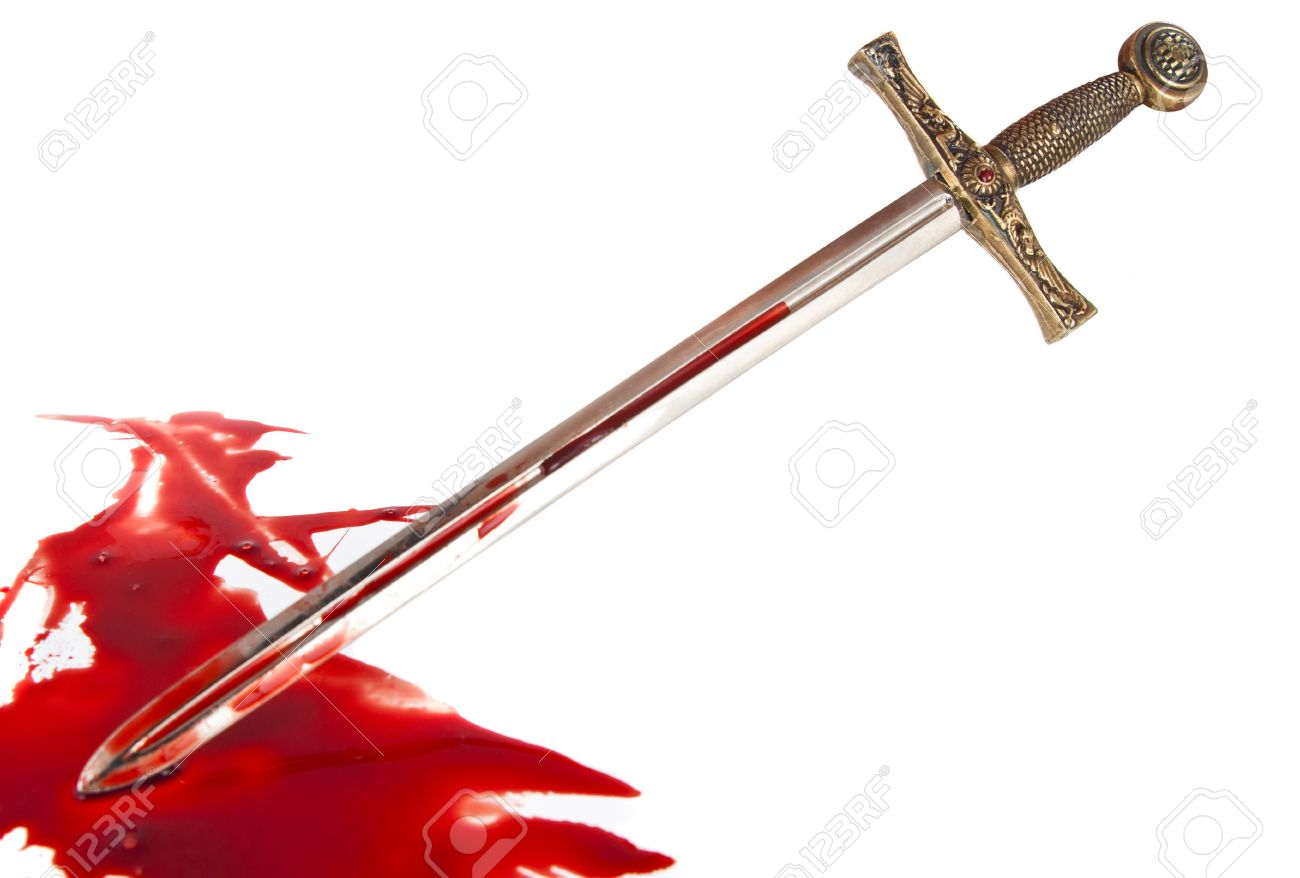 [Image: 14862496-knight-s-sword-in-the-blood-on-...ground.jpg]