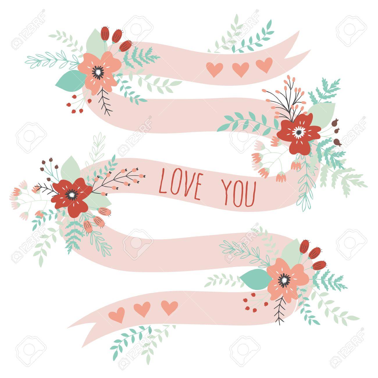 Romantisch Und Lovecard Fur Happy Valentines Day Vorlage Fur