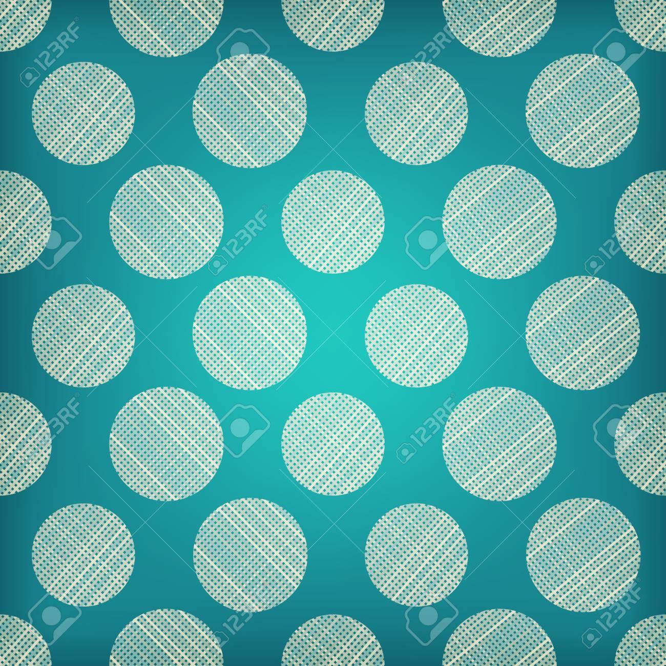 Modelo Inconsútil Geométrico Abstracto De Los Círculos. La Textura ...