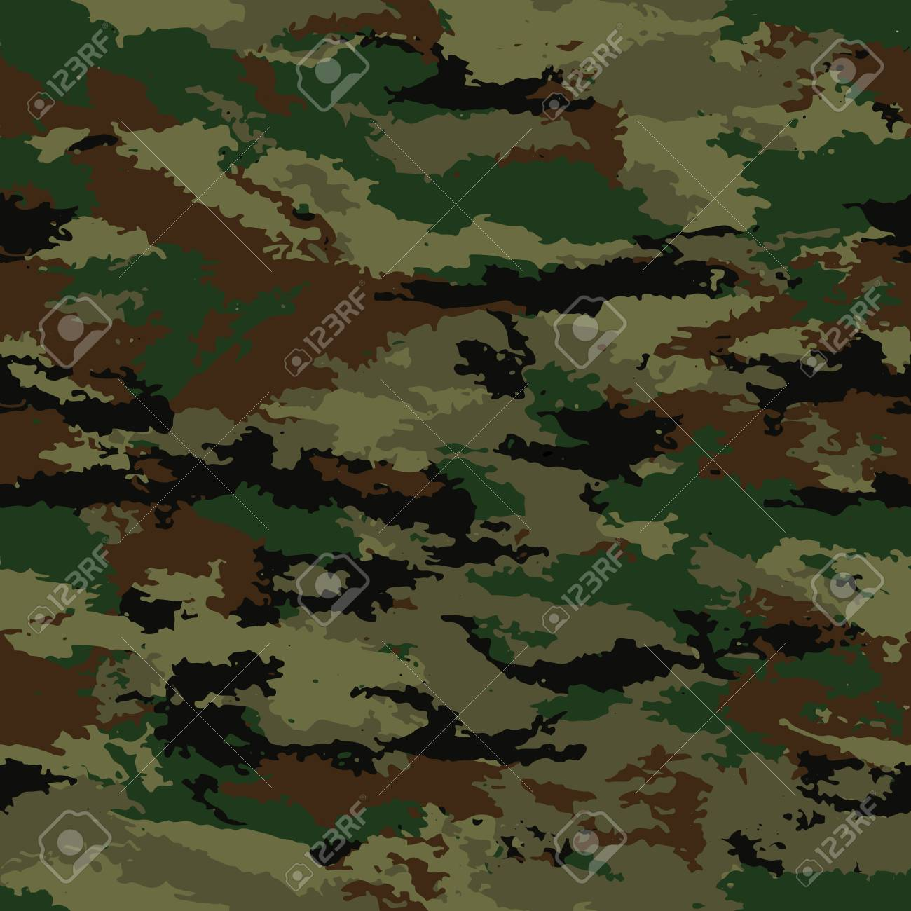 free military background