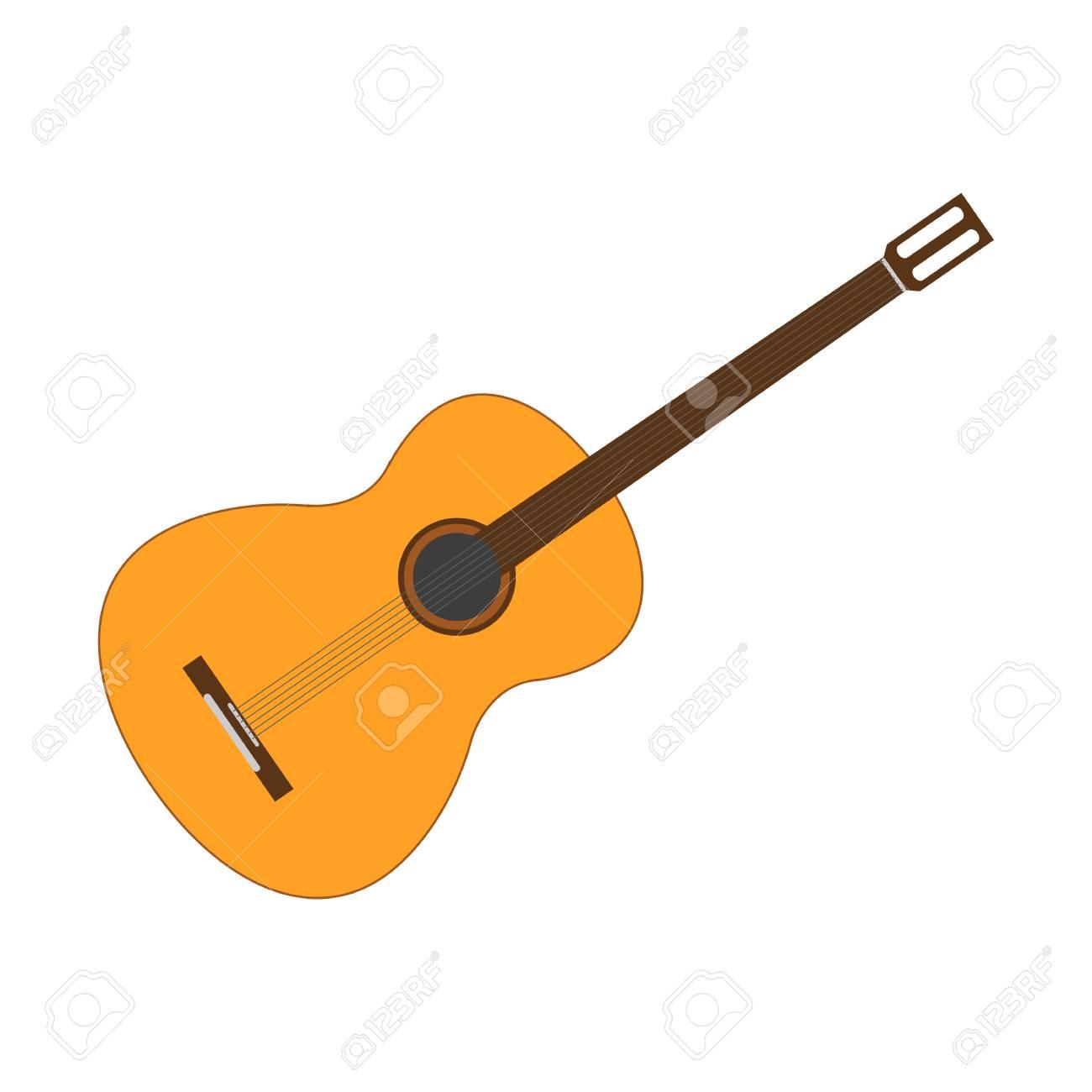 guitar icon vector illustration royalty free cliparts vectors rh 123rf com guitars victoria bc