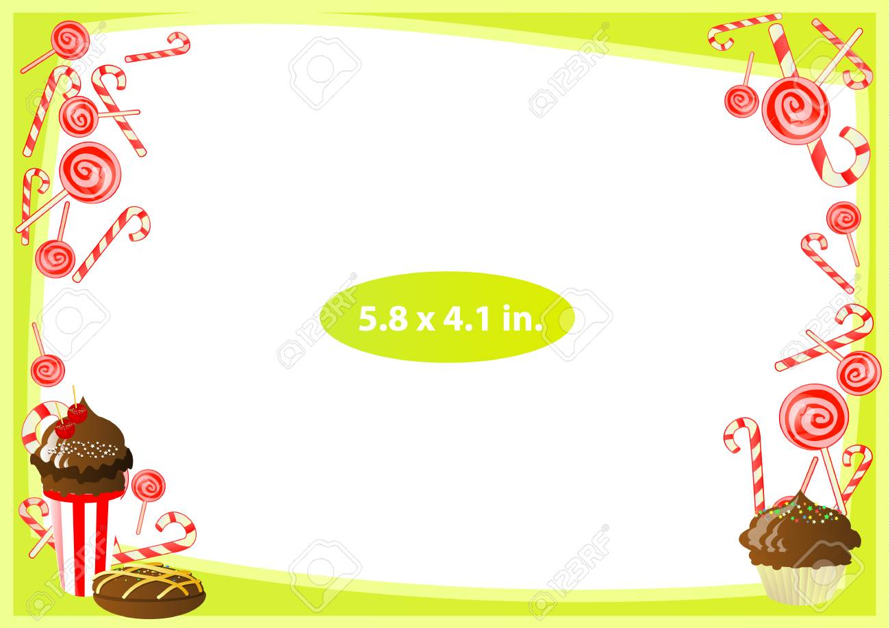 162d3cdcdf87 Photo frame. Standard photo size in inches. Vector illustration for your  design. Horizontal