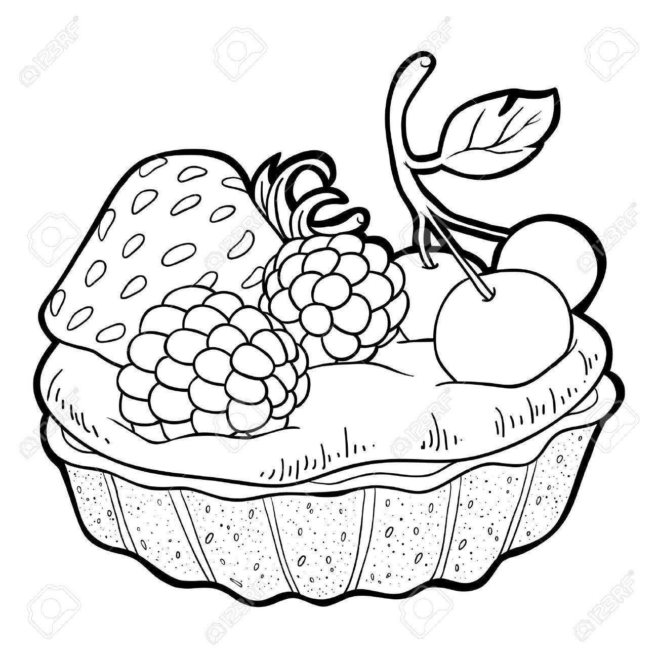 Coloring Book (cake) Royalty Free Cliparts, Vectors, And Stock ...