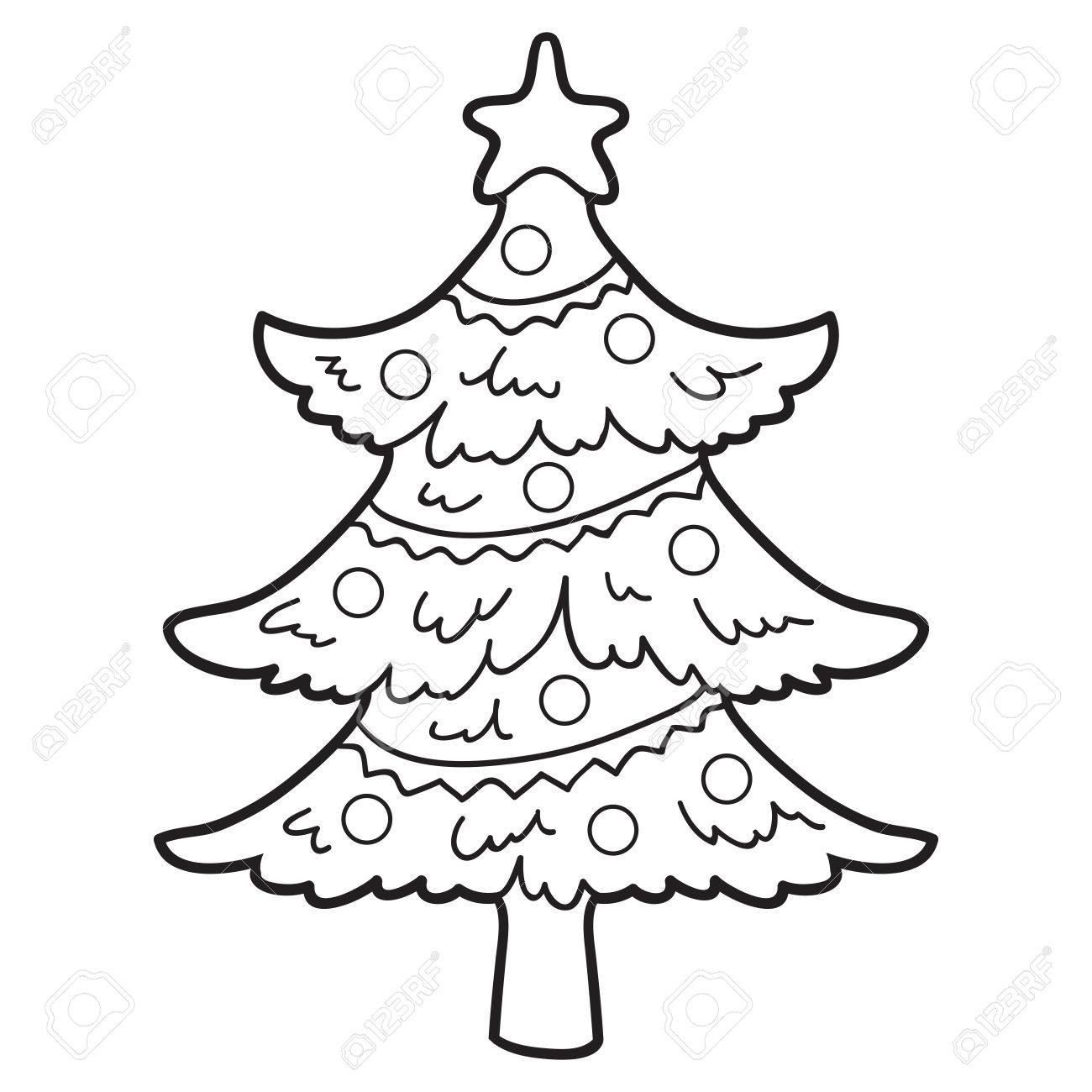 - Coloring Book (christmas Tree) Royalty Free Cliparts, Vectors, And