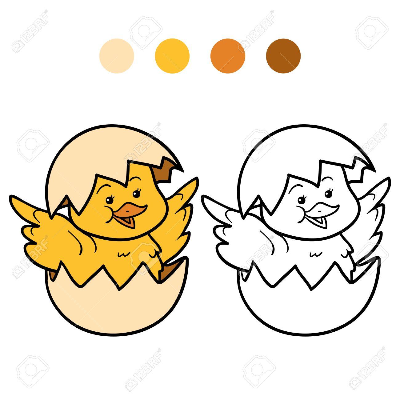 Asombroso Pollo Correr Para Colorear Imágenes - Dibujos Para ...