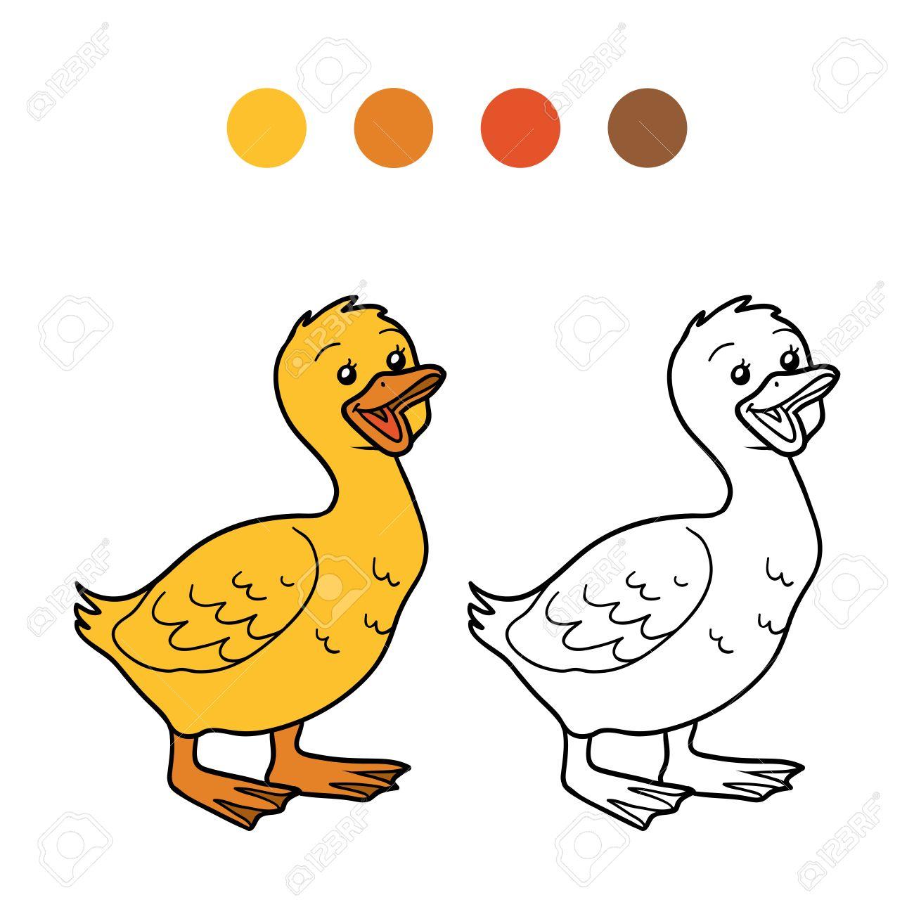 Bonito Hoja Para Colorear De Pollo Adorno - Ideas Creativas para ...
