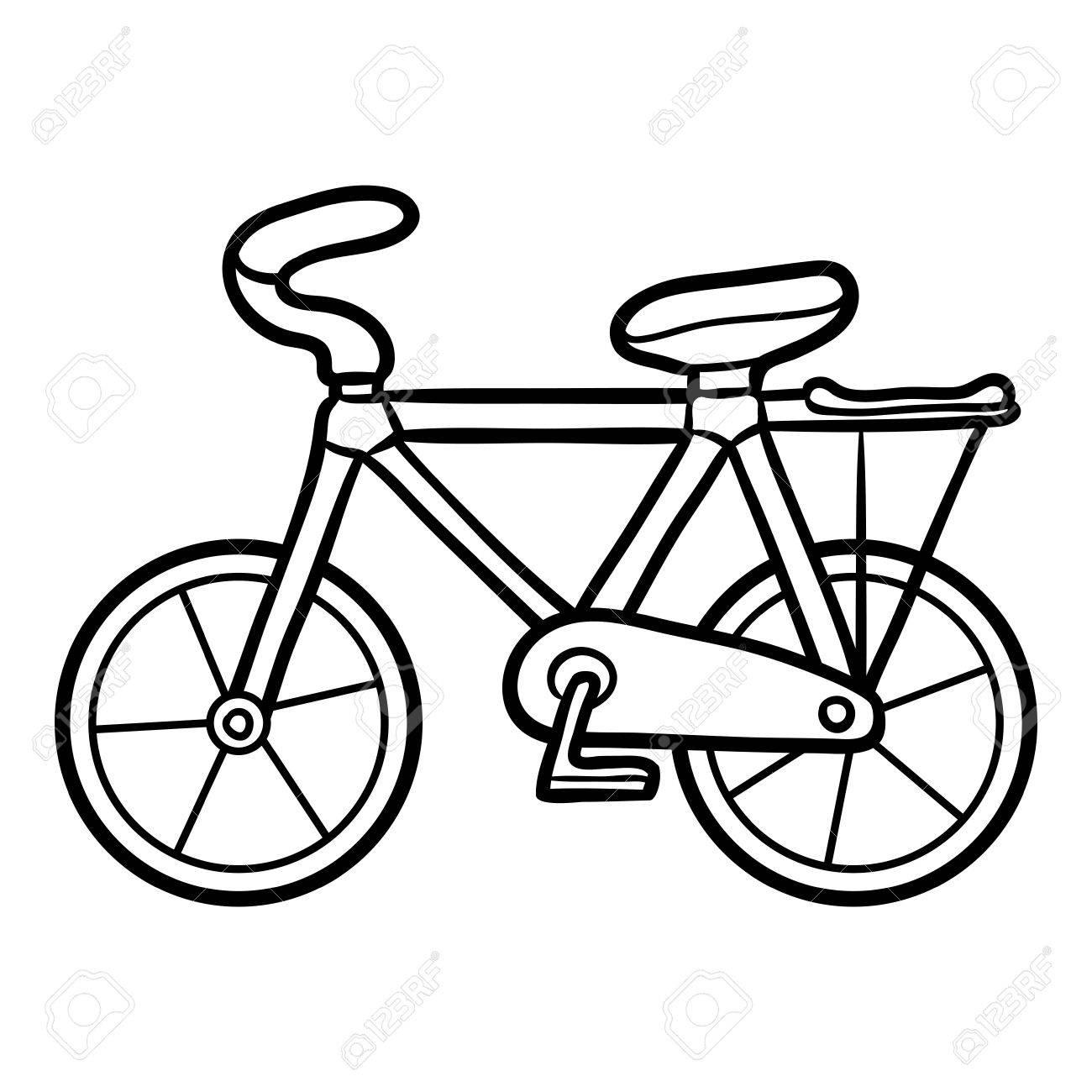 Bicicleta Para Colorear Para Ninos Colorear Para Niños
