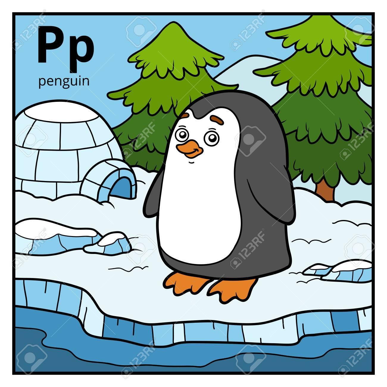 Excepcional Pagina De Color Pinguino Molde - Ideas Para Colorear ...
