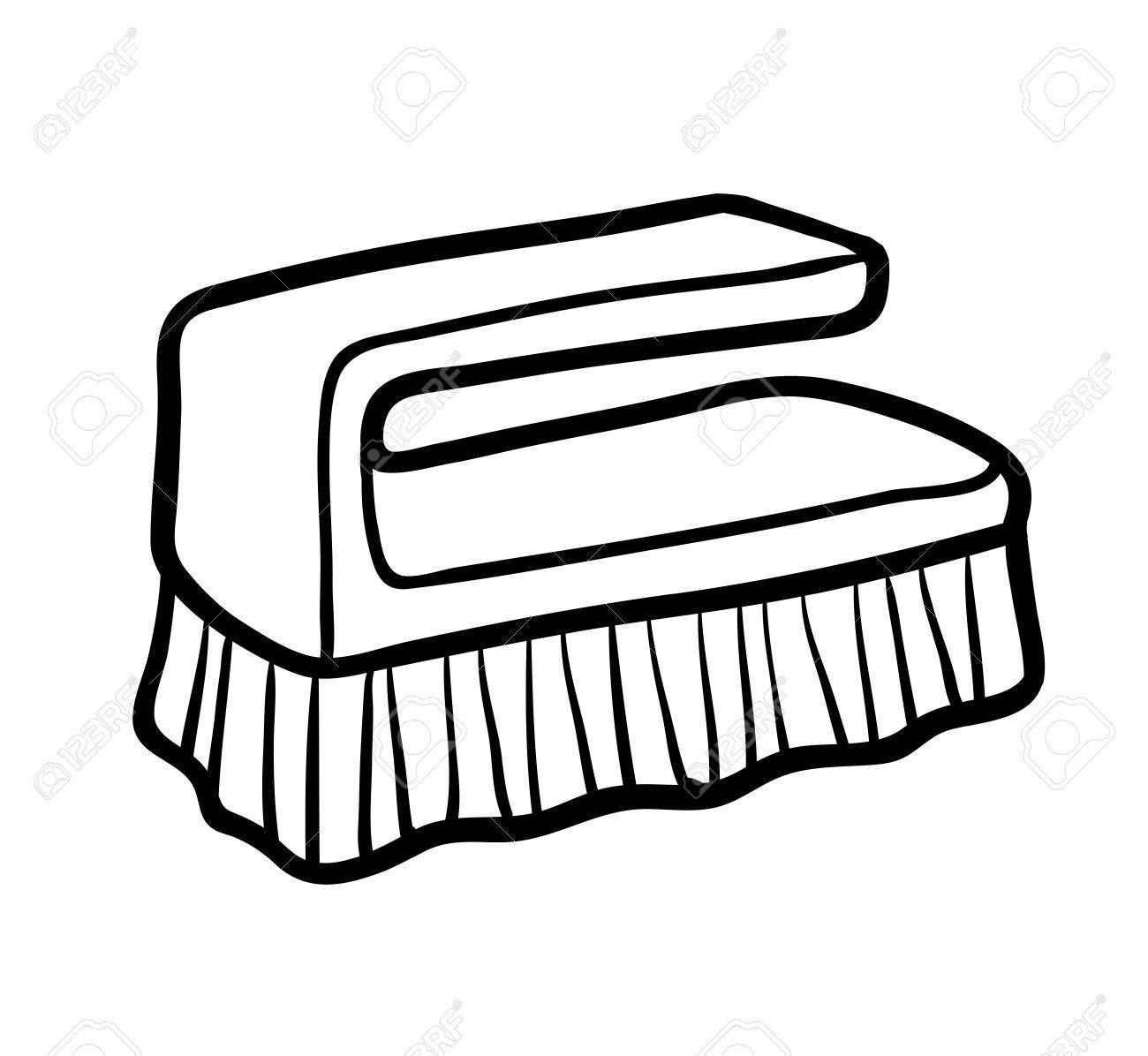 Libro Para Colorear Para Niños Cepillo Manual De Limpieza