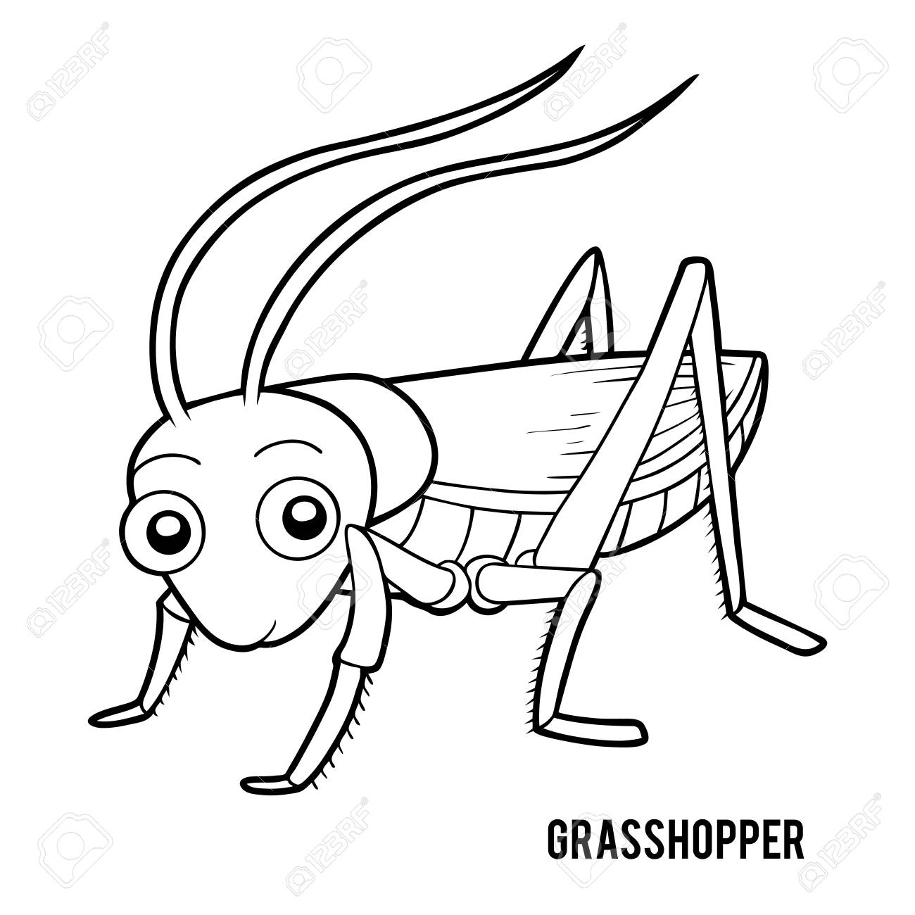 coloring book for children grasshopper royalty free cliparts vectors and stock illustration image 121471660 coloring book for children grasshopper royalty free cliparts vectors and stock illustration image 121471660