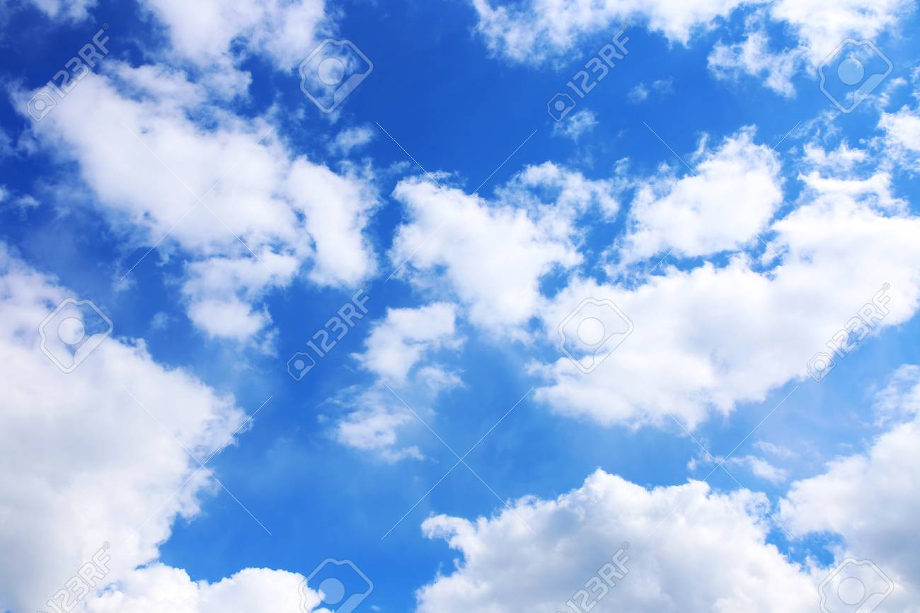 blue sky background with white clouds clouds with blue sky stock