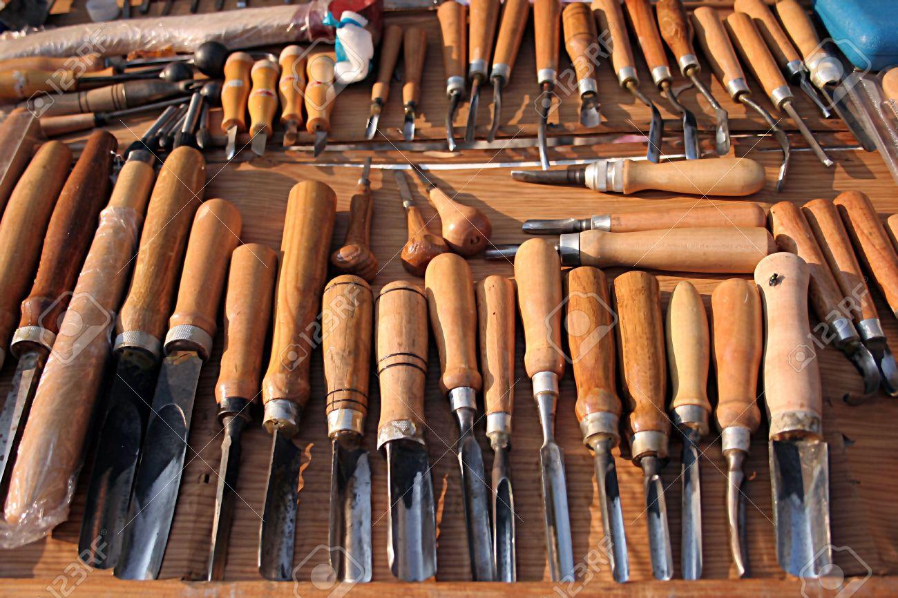 sculpture bois outils