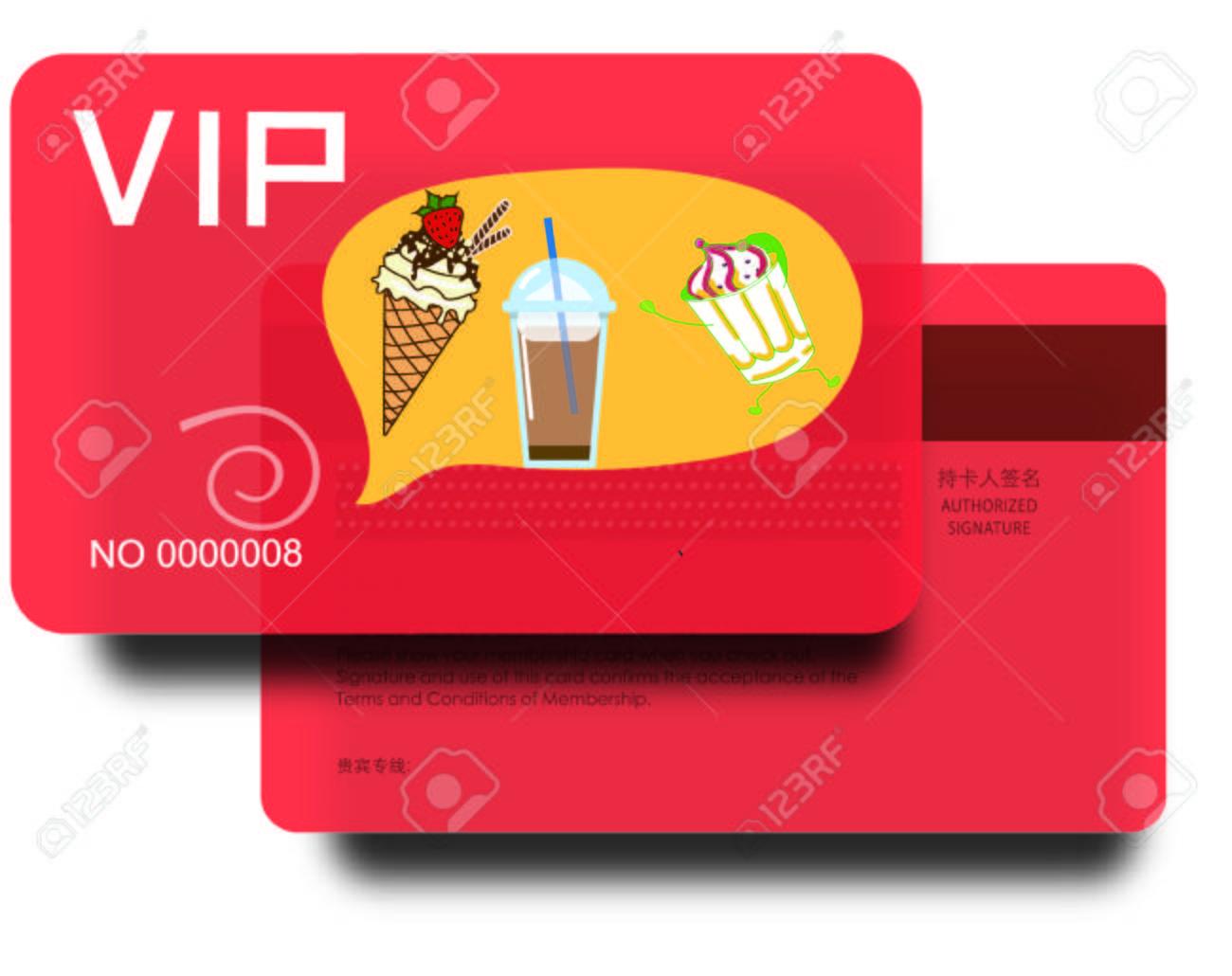 Membership Business Card Graphic Design Royalty Free Cliparts – Membership Card Design