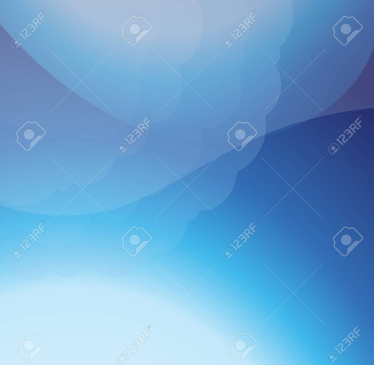 Abstract colorful transparent lights illustration Stock Vector - 10493180
