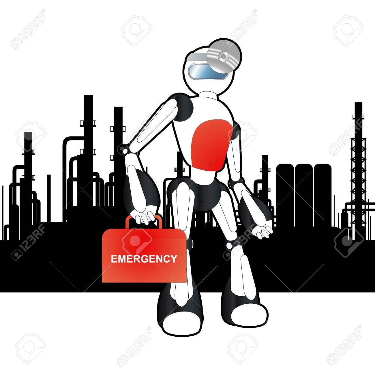Animated Medical Robot Doctor Illustration Royalty Free Cliparts ...