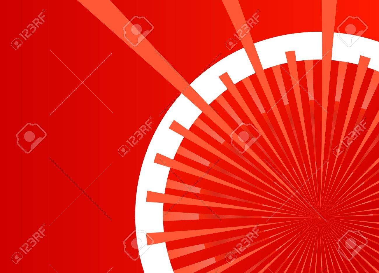 Colorful burst background for poster Stock Vector - 13412182
