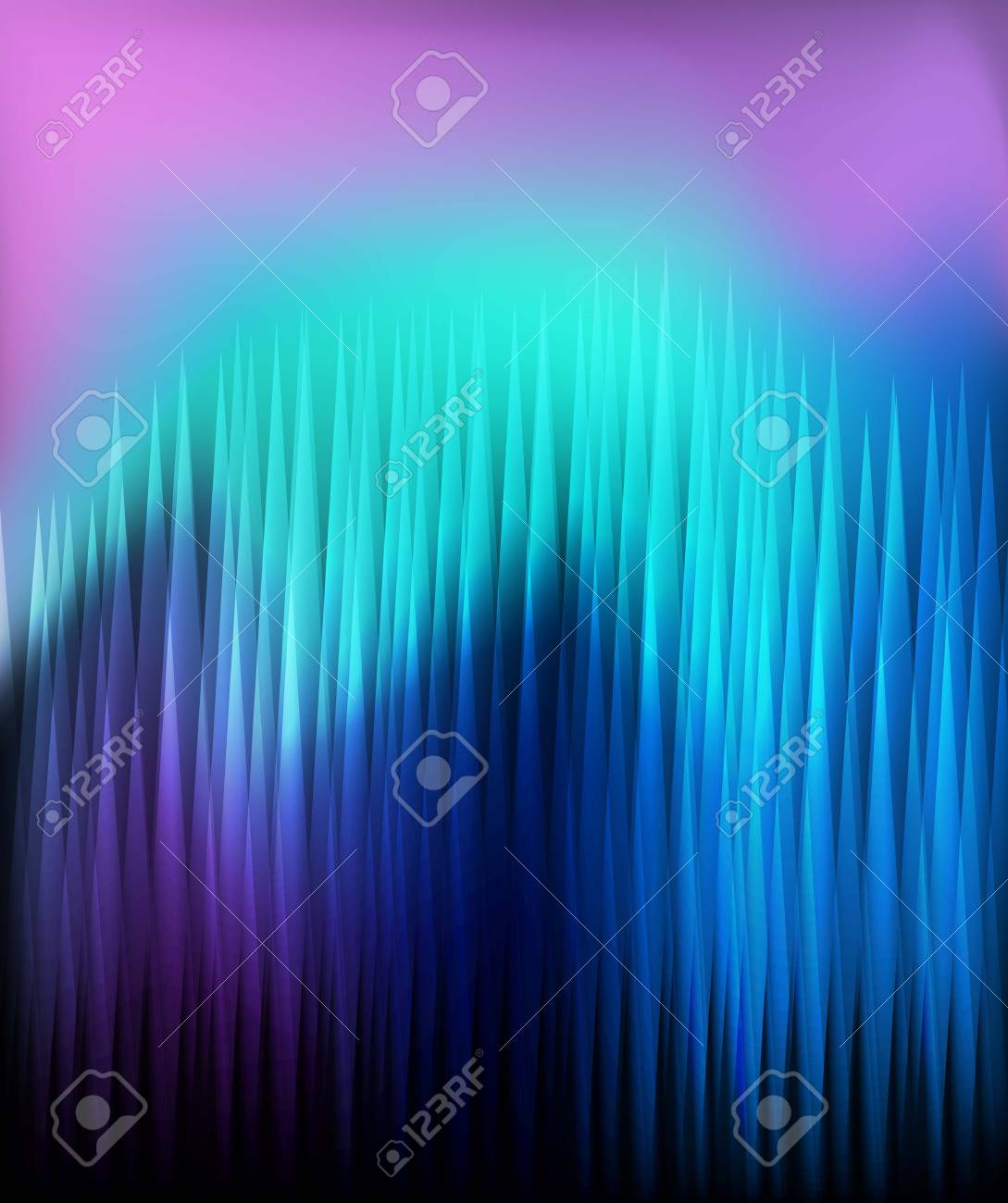 Neon abstract lines design on dark background vector concept Stock Vector - 17408028