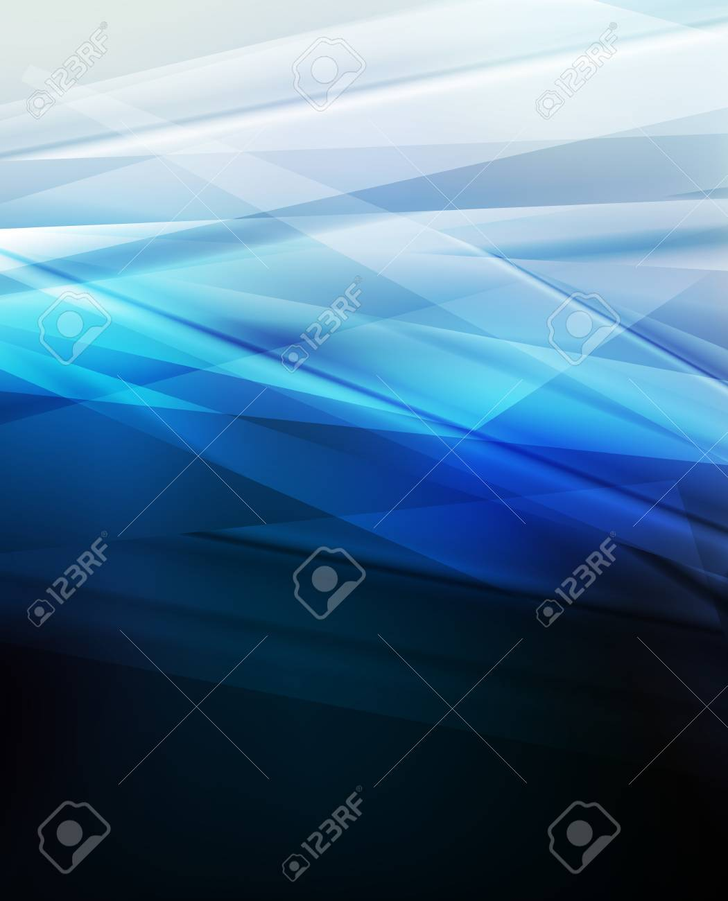 Blue abstract vector background concept with neon lines Stock Vector - 17408020