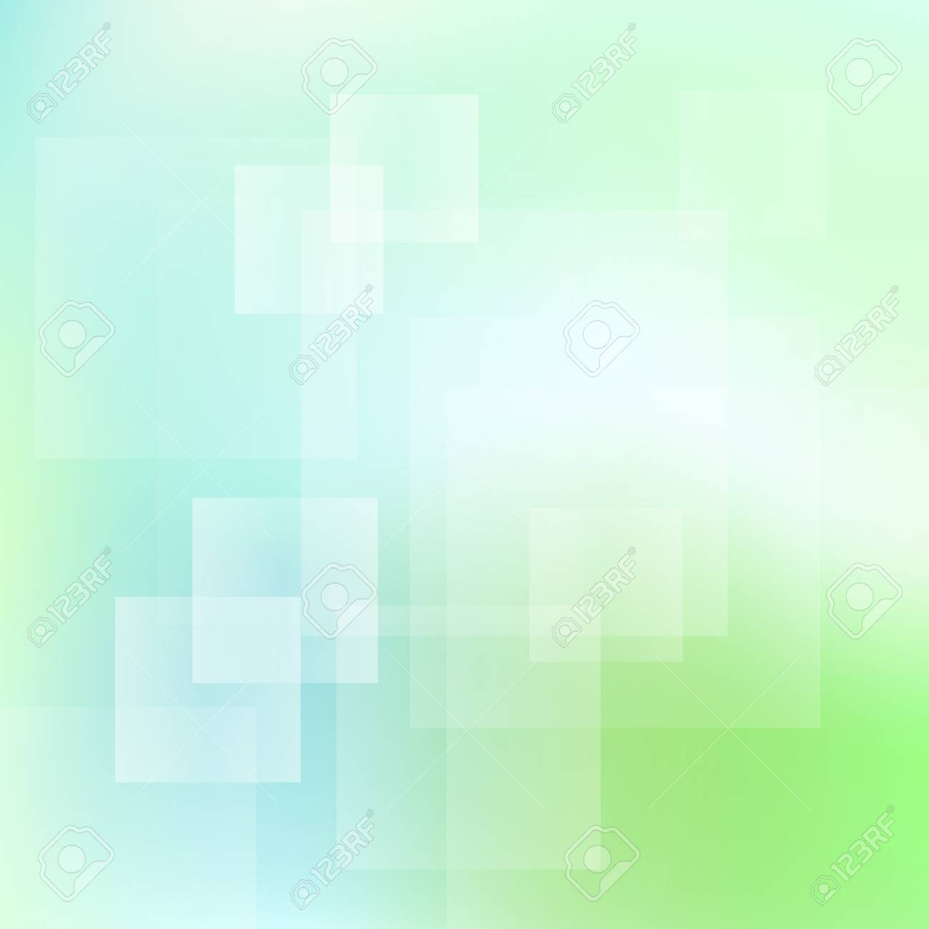 Green and blue abstract light vector background for card Stock Vector - 17407995
