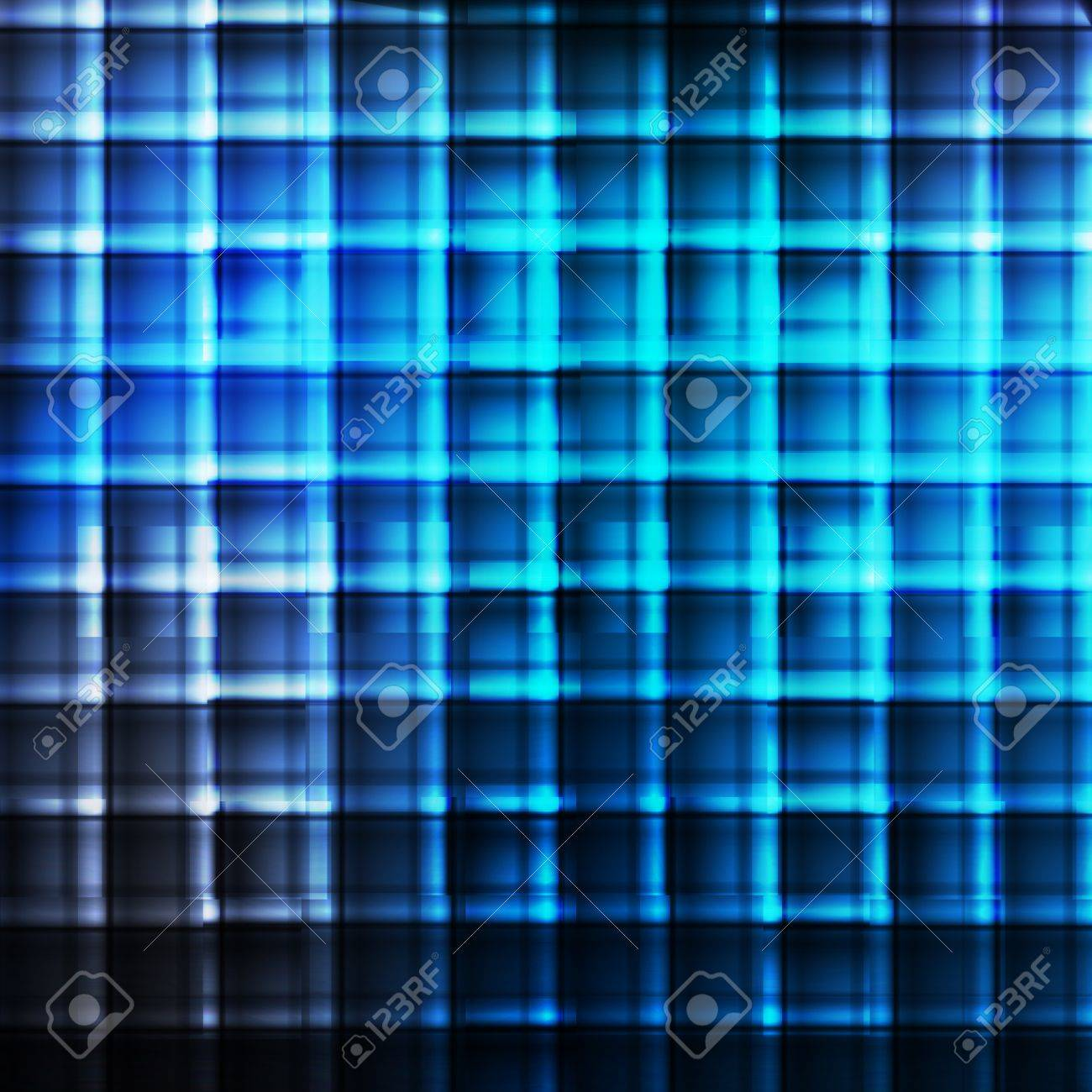 Blue abstract vector background concept with neon lines Stock Vector - 17408032