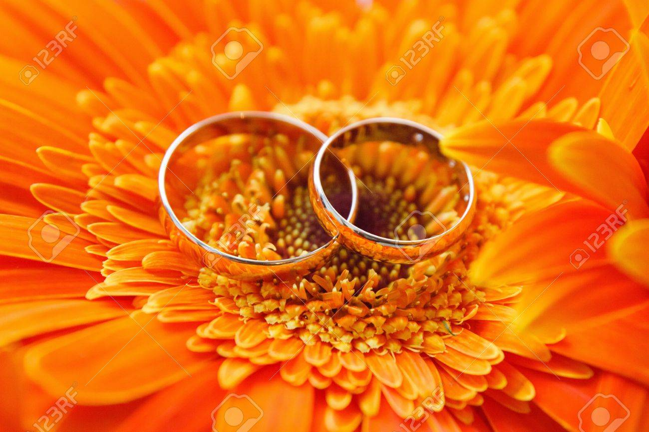 orange wedding rings Wedding Band Engraved Patterns Wedding Band Orange Blossom Pattern Floral Etched 14