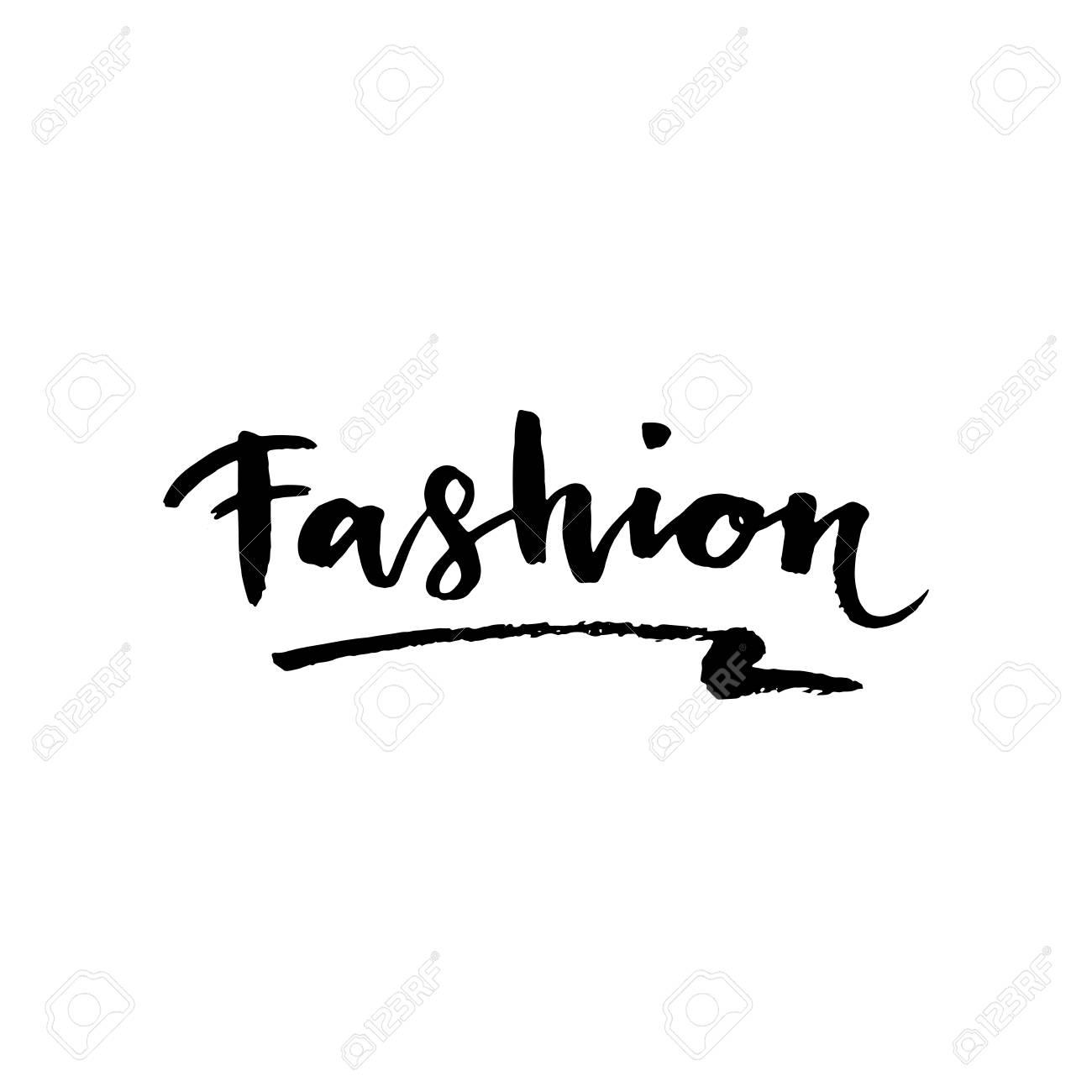Fashion lettering brush stroke vector sketch cosmetic quote fashion lettering brush stroke vector sketch cosmetic quote modern brush lettering can be altavistaventures Choice Image