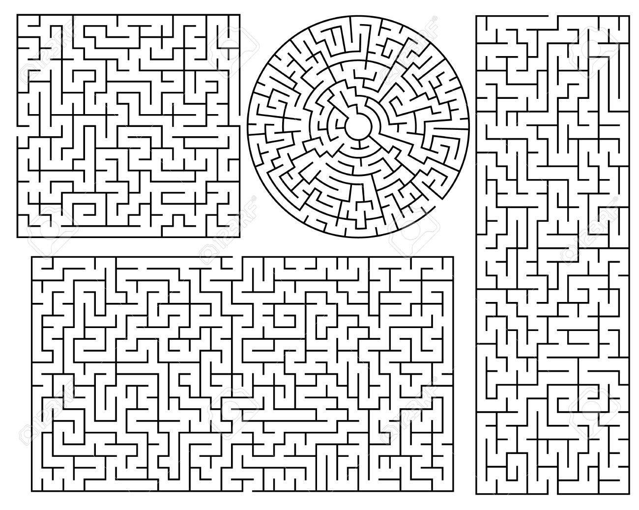 maze templates