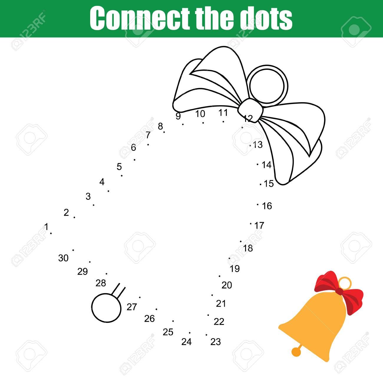 Verbinde Das Pädagogische Zeichenspiel Der Punktekinder Punkt Für