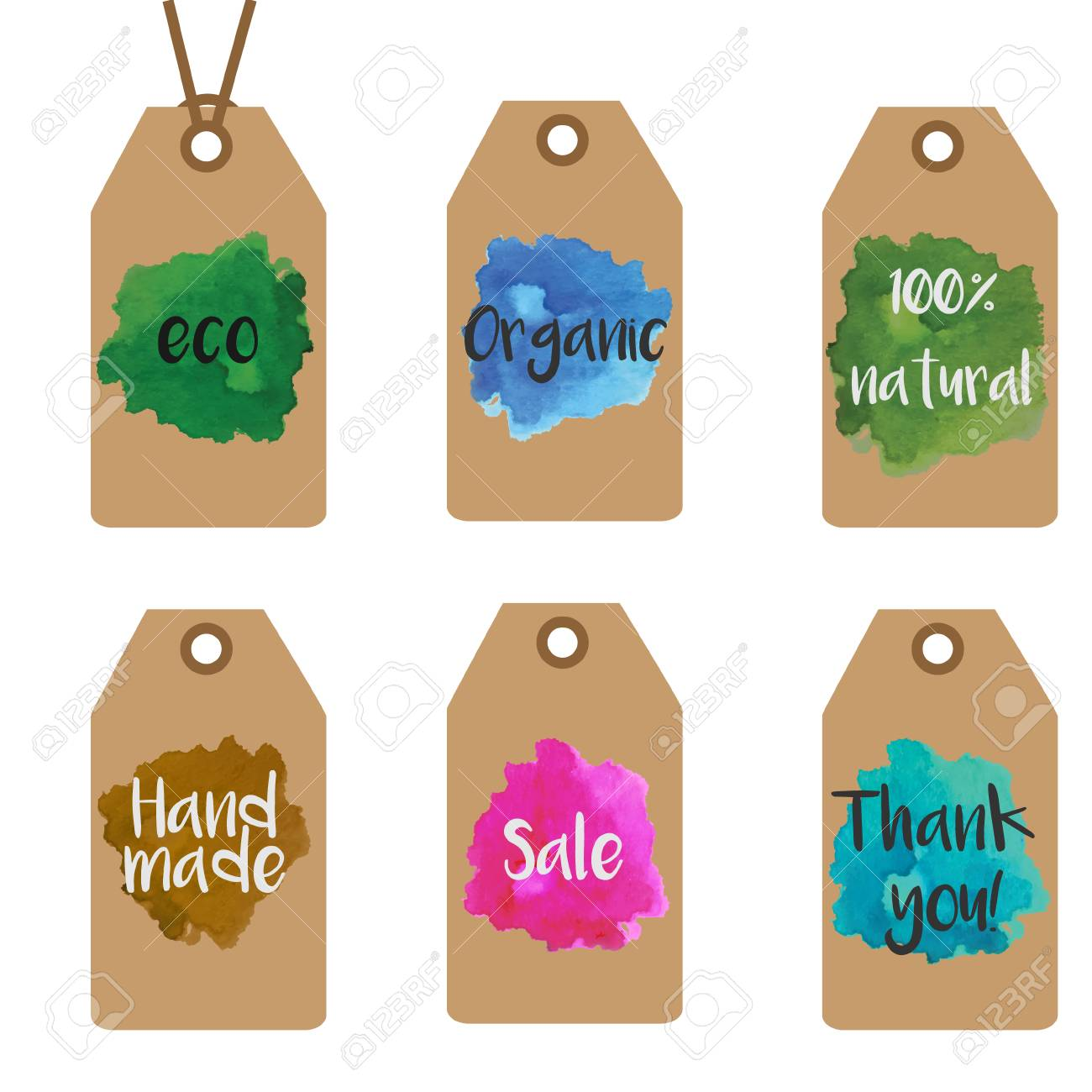 Gift tags design templates  Shopping and sale tags vector collection