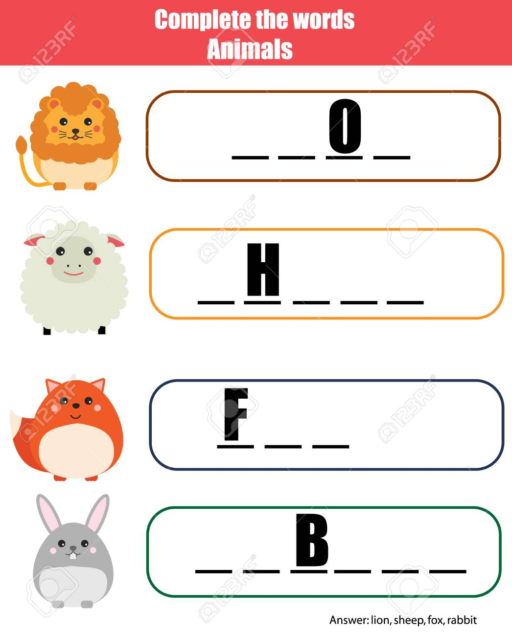 graphic about Printable Vocabulary Game named Extensive the phrases small children instructive match, printable small children..