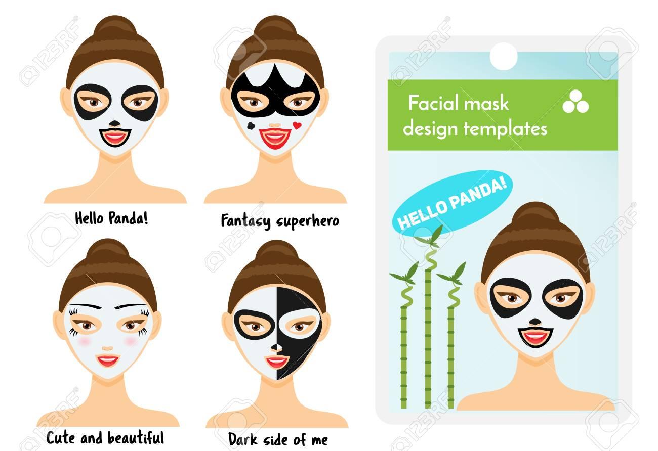 Atemberaubend Gesichtsmasken Vorlagen Zeitgenössisch - FORTSETZUNG ...