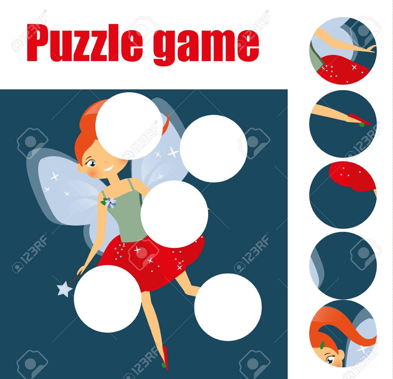 Puzzle Para Niños Pequeños. Juego Educativo De Los Niños A Juego ...