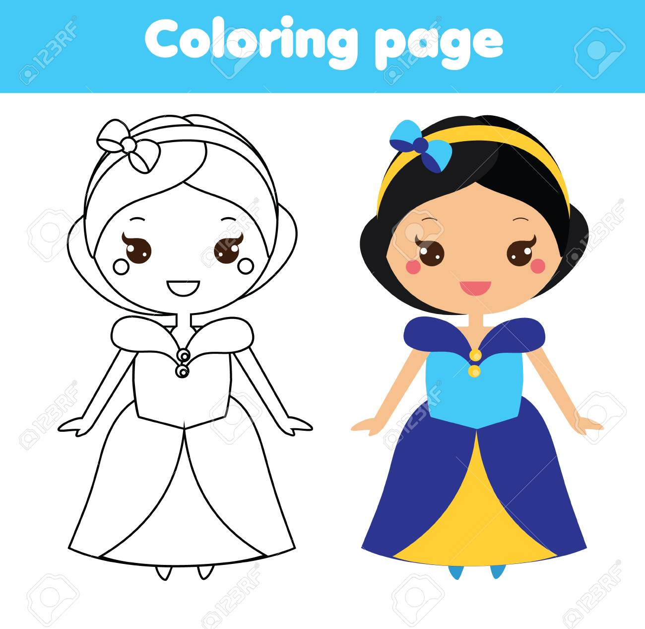 Princess Coloring Pages - Best Coloring Pages For Kids | 1266x1300