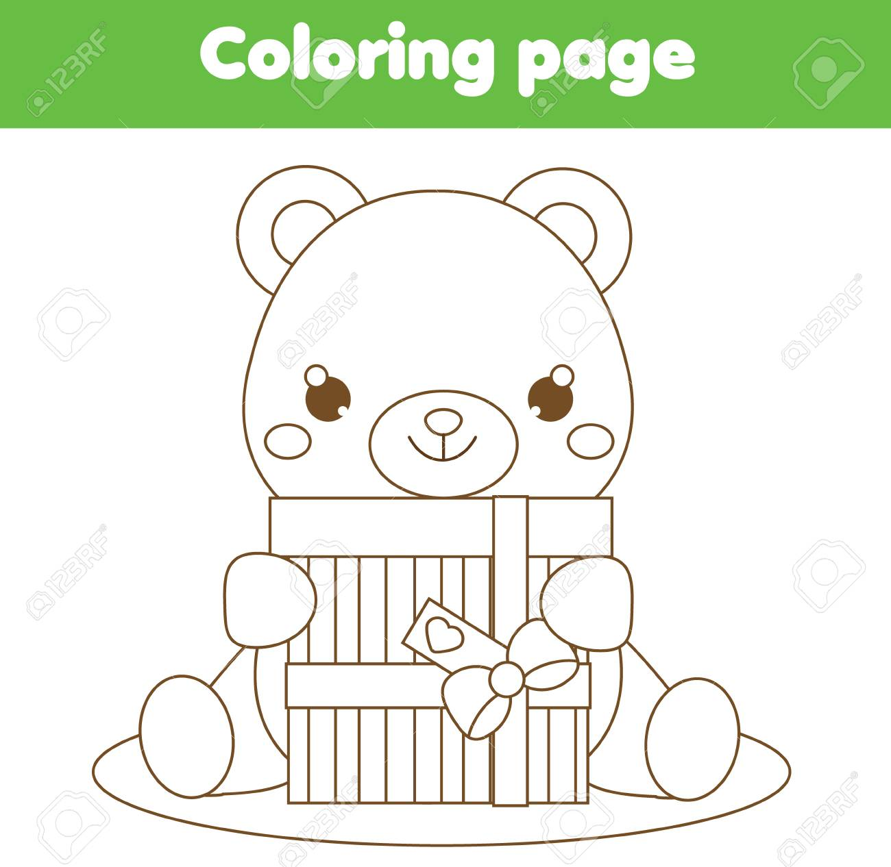 Free Printable Teddy Bear Coloring Pages For Kids   1266x1300