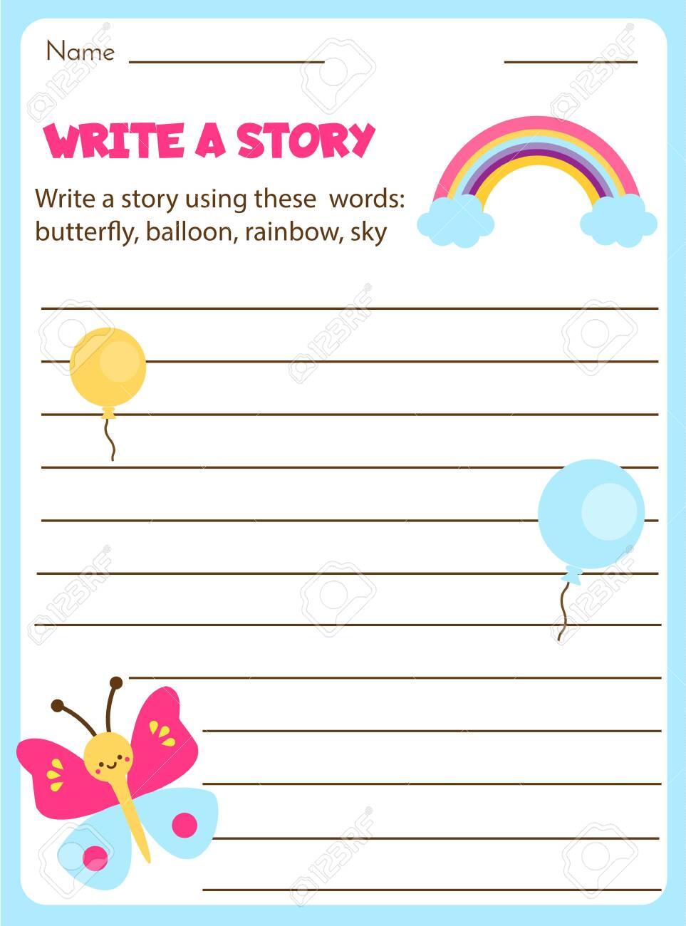 Narrative Writing - Fun in First