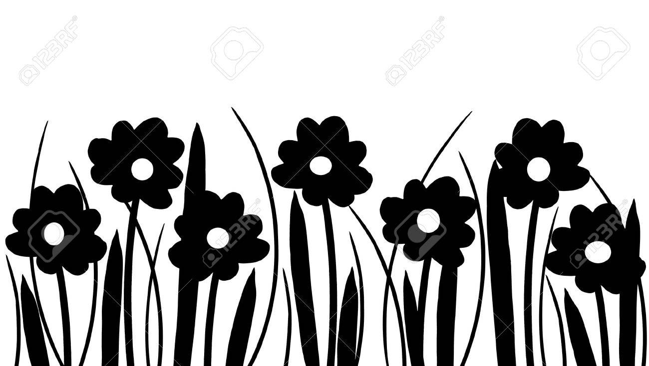 Photo Of Spring Flowers Choice Image Flower Decoration Design Silhouette And Grass On