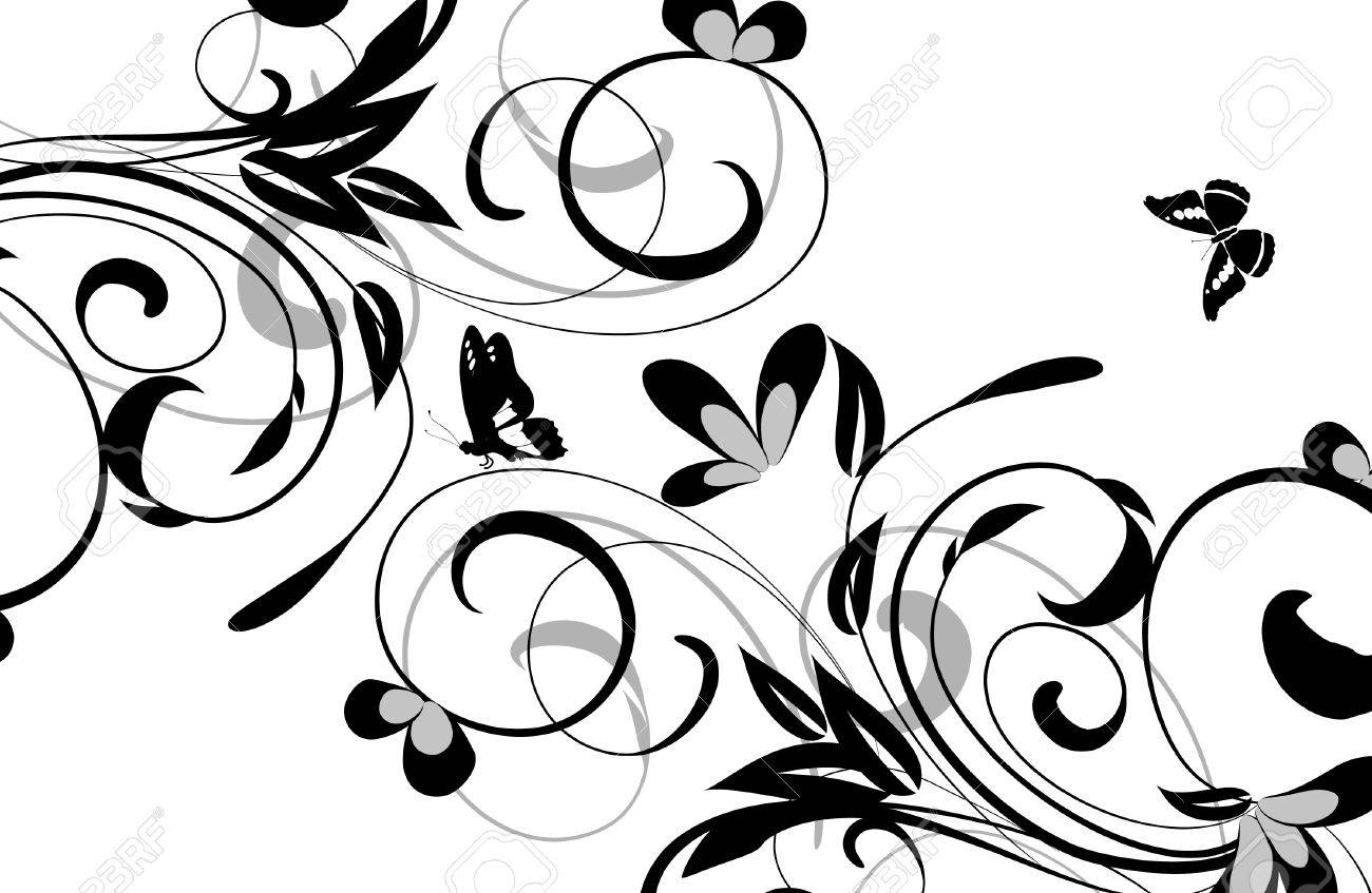 floral designs Stock Vector - 6558182
