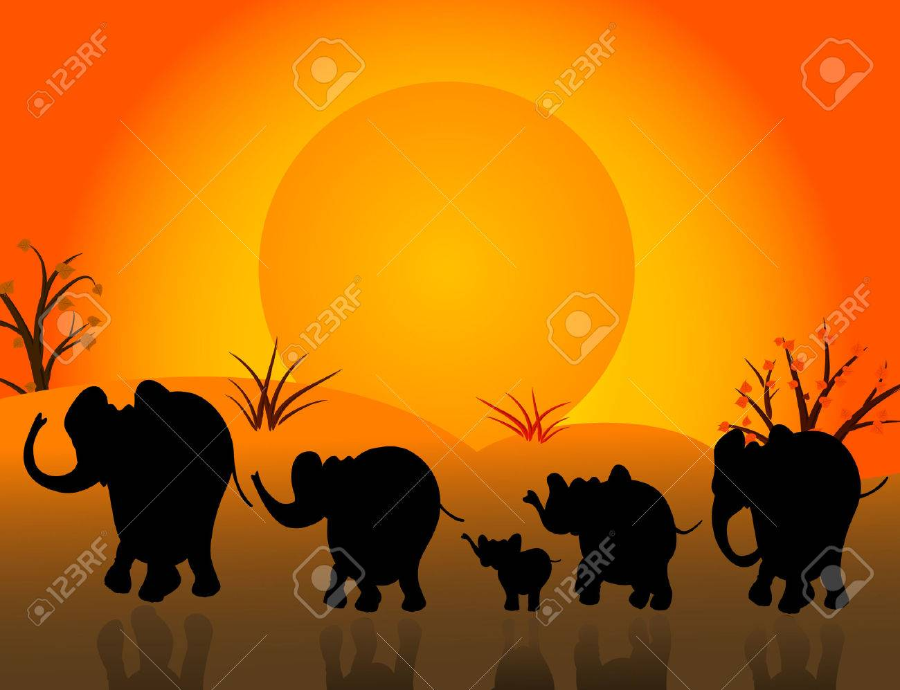 herd Stock Vector - 6678527