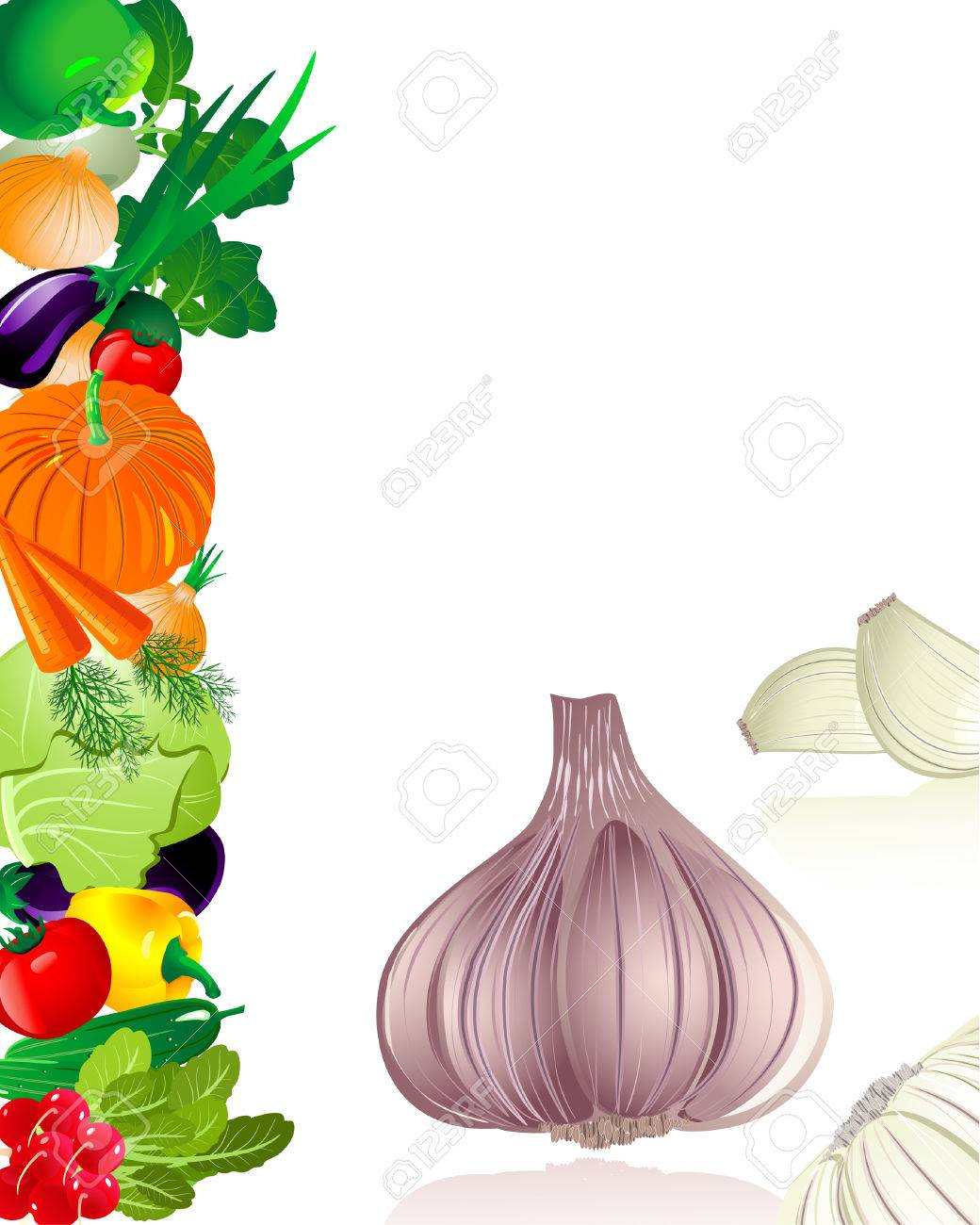 garlic Stock Vector - 6794399