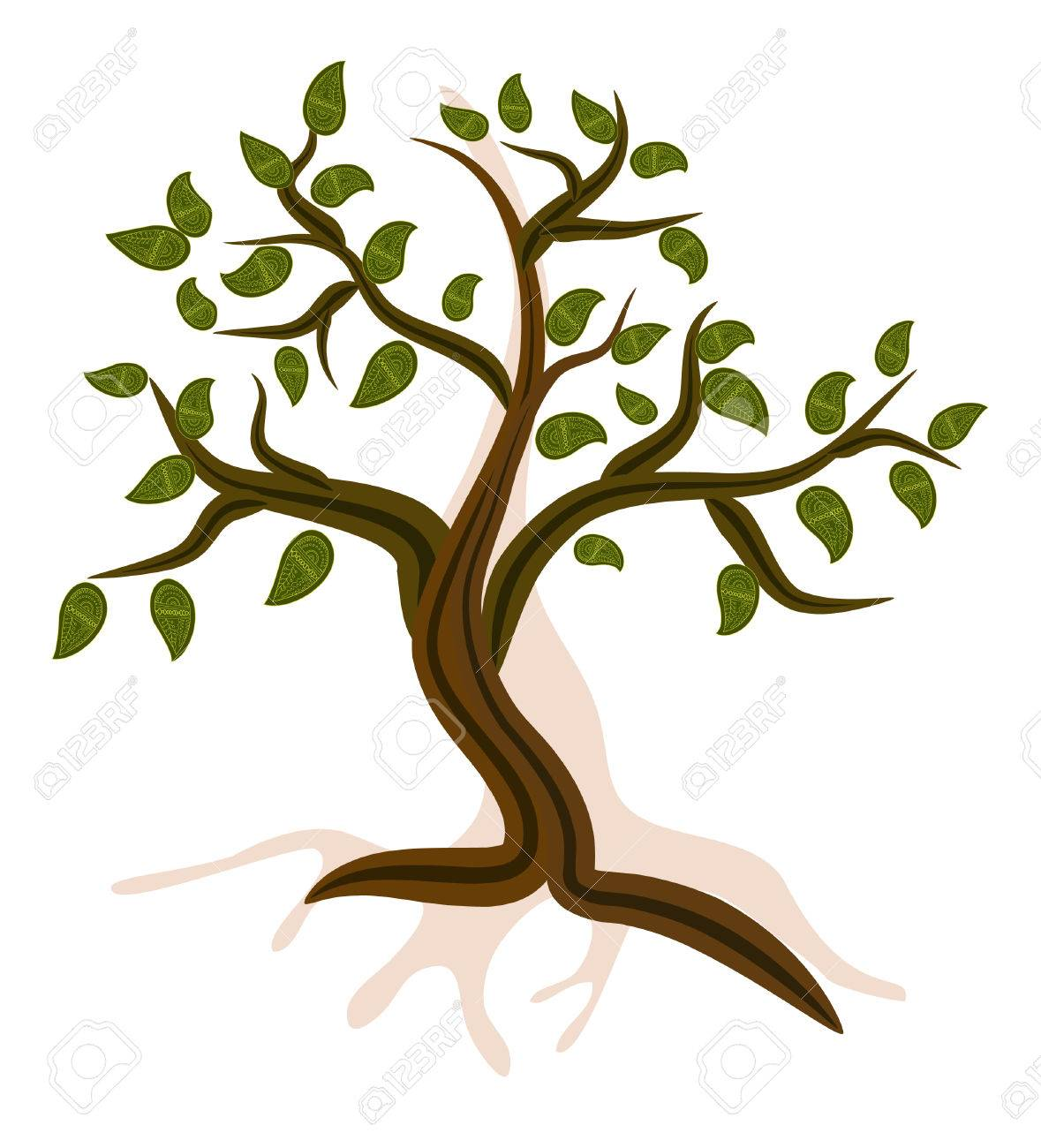 Mountain Tree Stock Vector - 7896796