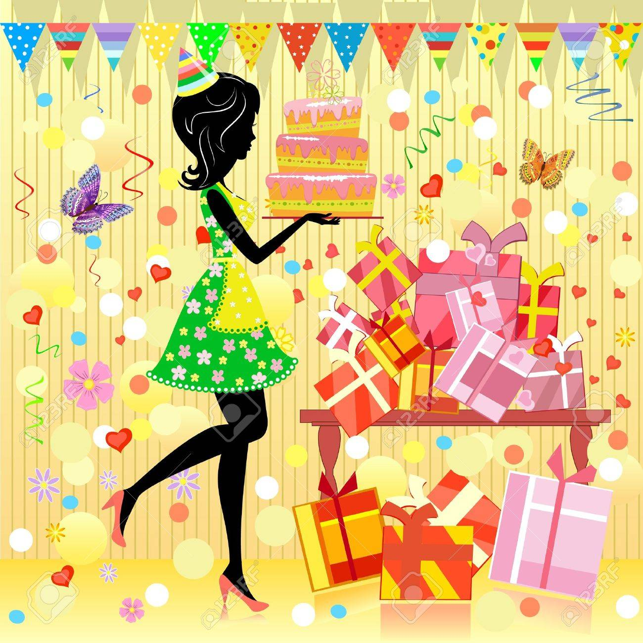 Birthday party Stock Vector - 9287026