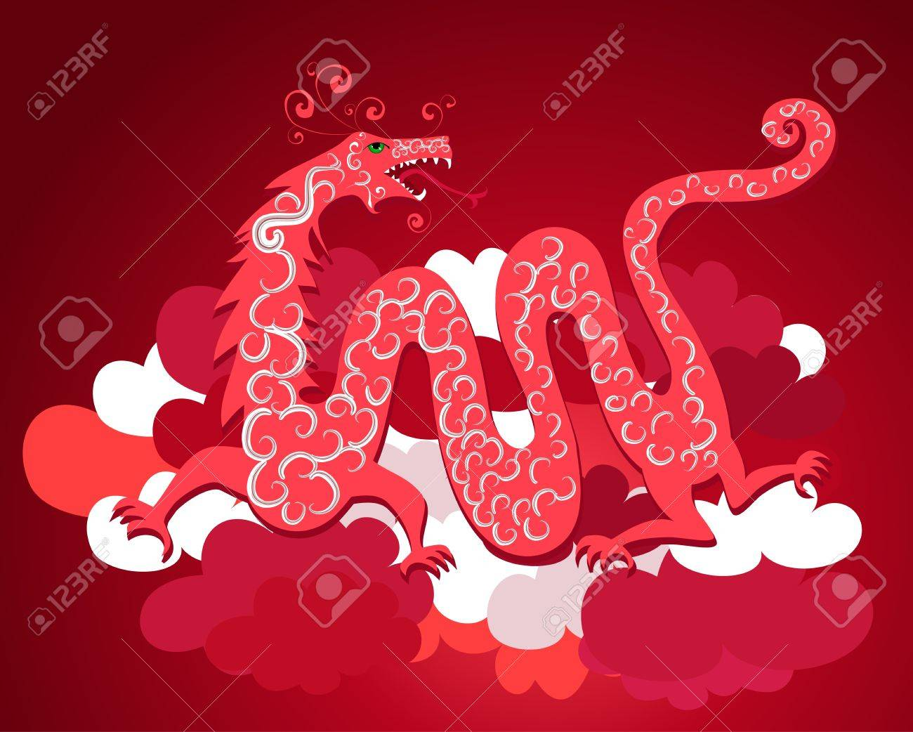 Chinese dragon Stock Vector - 9354883