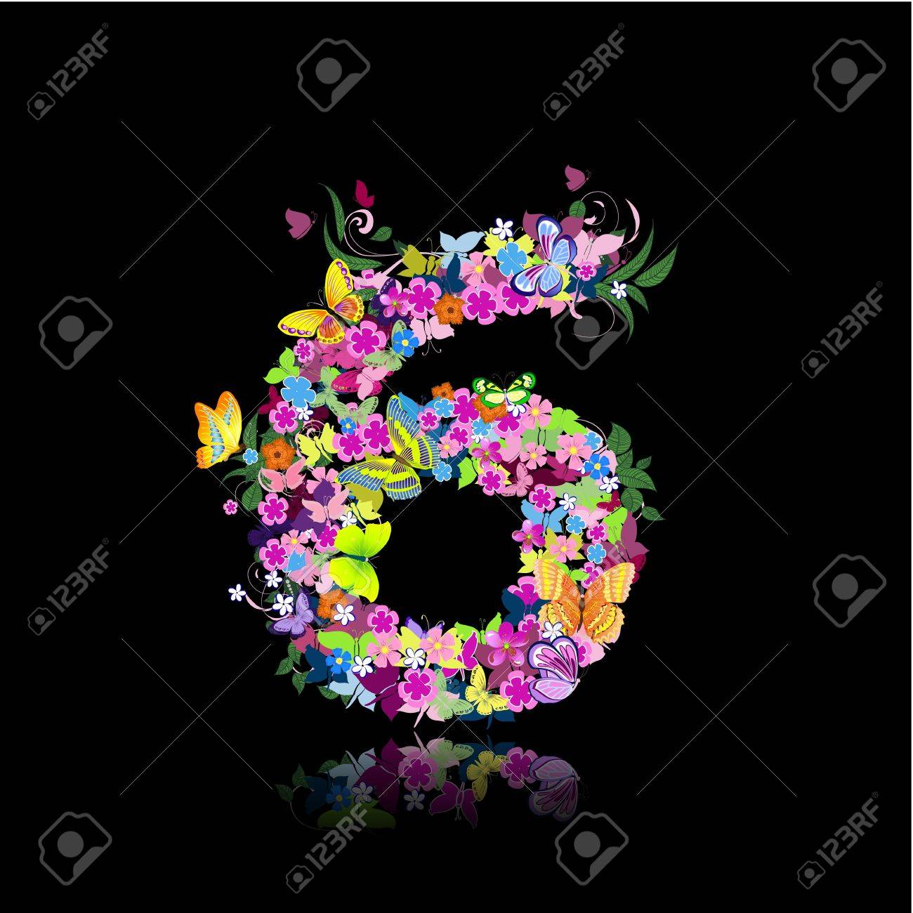 butterfly numbers images u0026 stock pictures royalty free butterfly