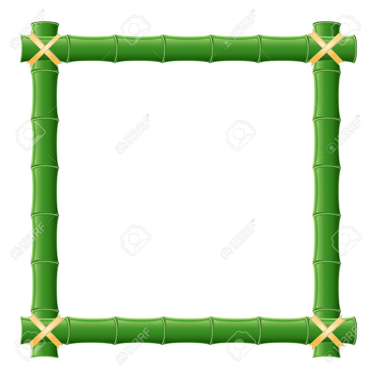 bamboo frame royalty free cliparts vectors and stock illustration rh 123rf com clipart bamboo border vector