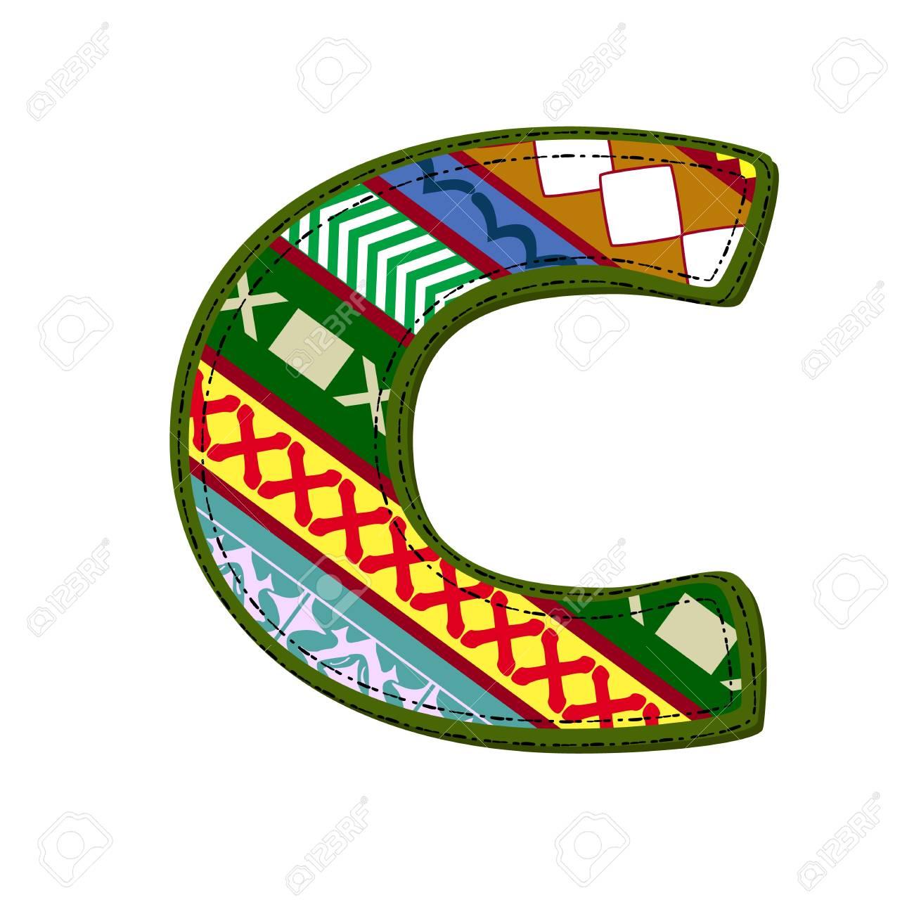 letter pattern of tissue Stock Vector - 14173511