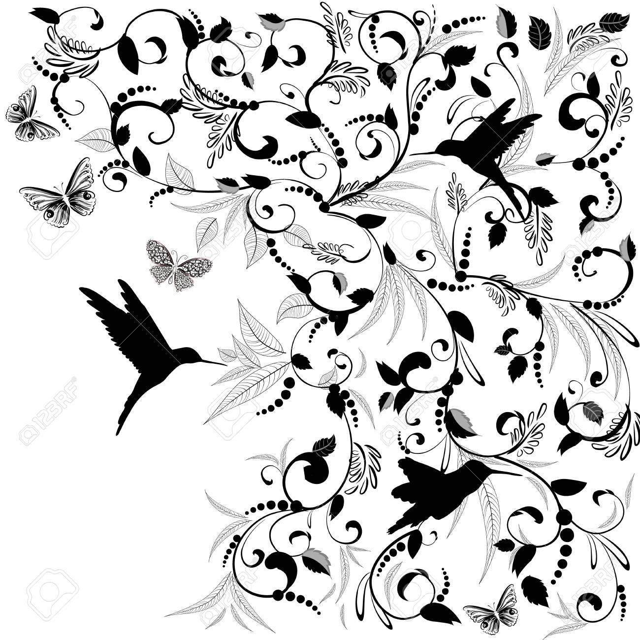 Foliate designs for greetings Stock Vector - 16432737