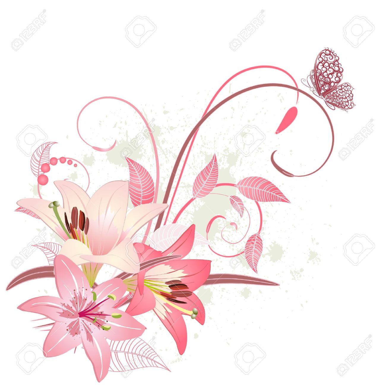 Lys Fleur Dessin