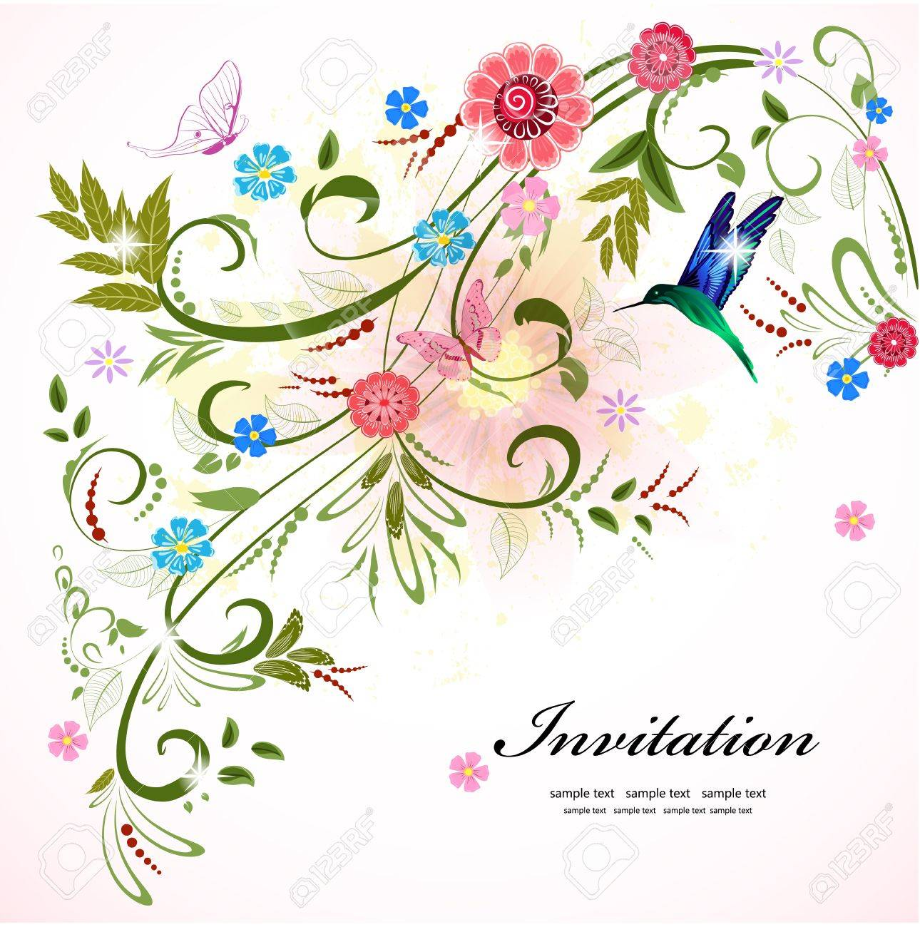 floral ornament  for your design Stock Vector - 18238865