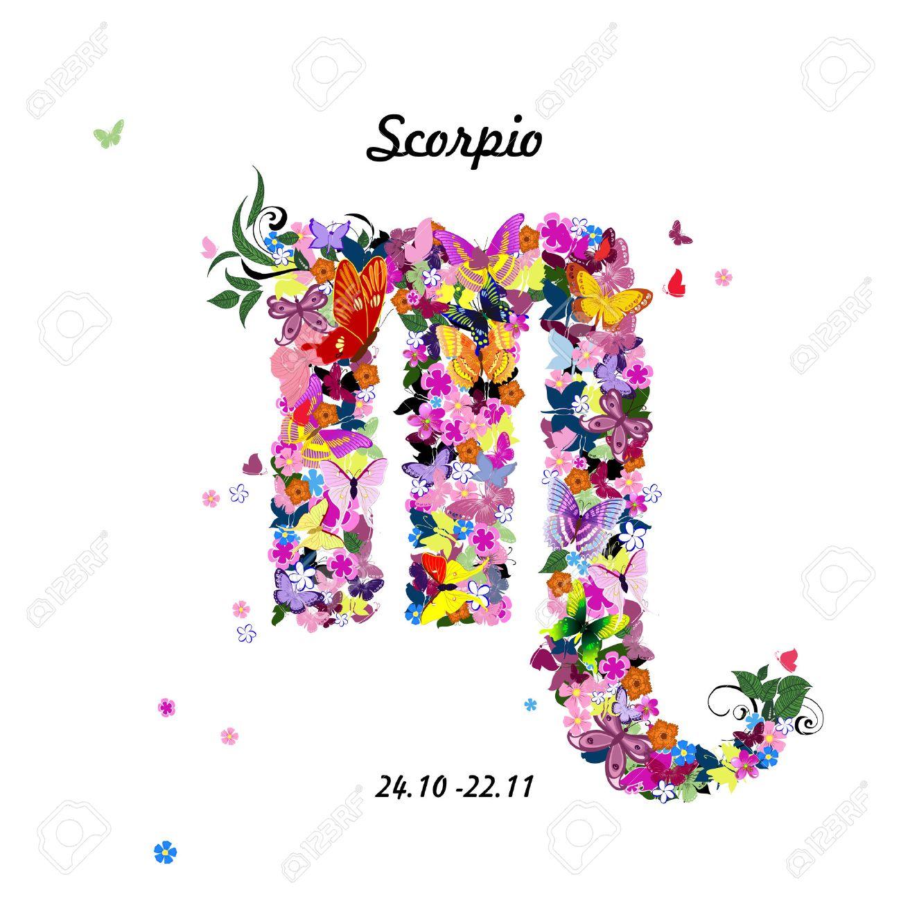 Цветы для знака зодиака скорпион фото