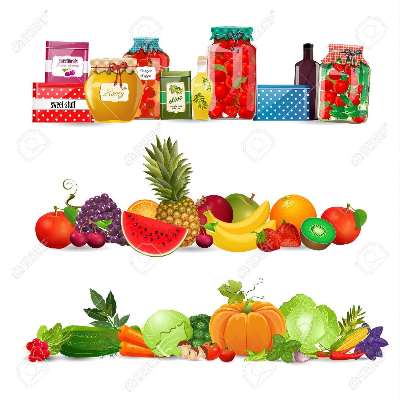 marco de verduras fronteras coleccin con preservar los alimentos verduras frutas cosecha